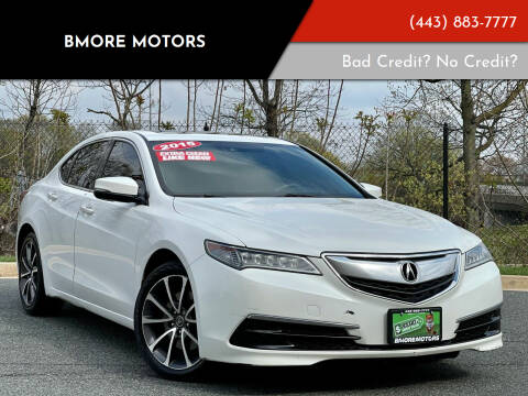 2015 Acura TLX for sale at Bmore Motors in Baltimore MD