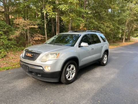 2009 GMC Acadia for sale at US 1 Auto Sales in Graniteville SC