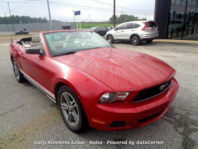 2011 Ford Mustang for sale at Gary Simmons Lease - Sales in Mckenzie TN