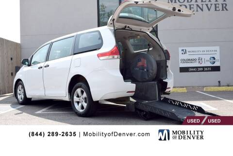 2013 Toyota Sienna for sale at CO Fleet & Mobility in Denver CO