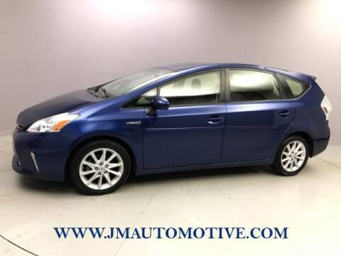 2013 Toyota Prius v for sale at J & M Automotive in Naugatuck CT