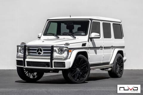 2016 Mercedes-Benz G-Class for sale at Nuvo Trade in Newport Beach CA