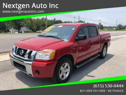 2009 Nissan Titan for sale at Nextgen Auto Inc in Smithville TN