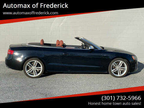 2012 Audi S5 for sale at Automax of Frederick in Frederick MD