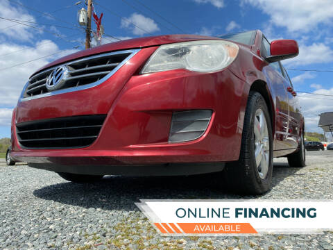 2011 Volkswagen Routan for sale at Prime One Inc in Walkertown NC