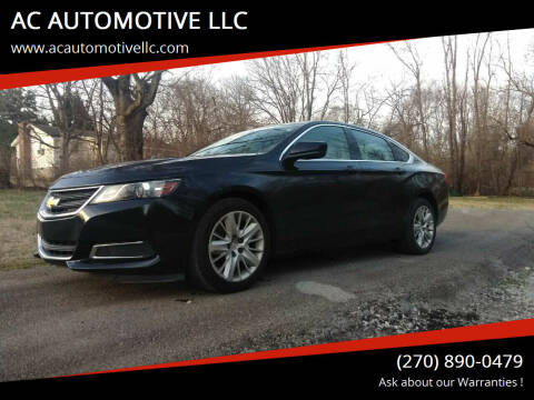 2014 Chevrolet Impala for sale at AC AUTOMOTIVE LLC in Hopkinsville KY