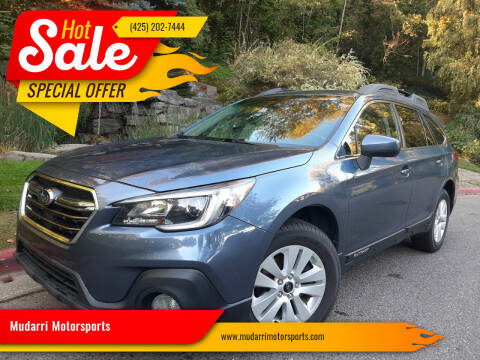 2018 Subaru Outback for sale at Mudarri Motorsports in Kirkland WA