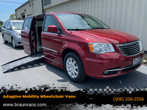 2014 Chrysler Town and Country for sale at Adaptive Mobility Wheelchair Vans in Seekonk MA