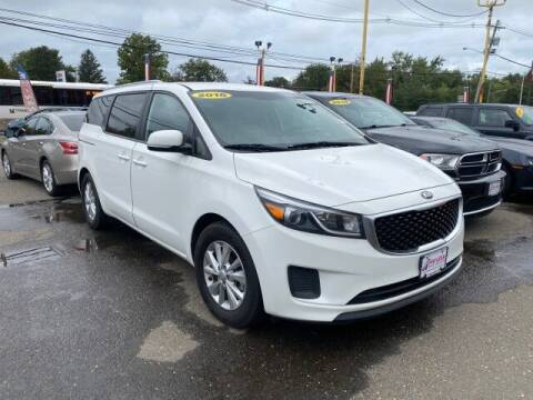 2016 Kia Sedona for sale at Payless Car Sales of Linden in Linden NJ