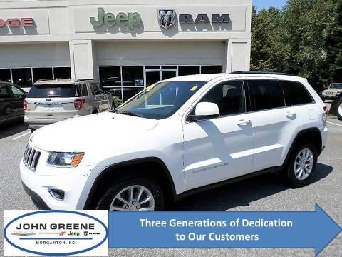 2015 Jeep Grand Cherokee for sale at John Greene Chrysler Dodge Jeep Ram in Morganton NC