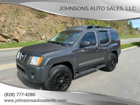 2005 Nissan Xterra for sale at Johnsons Auto Sales, LLC in Marshall NC