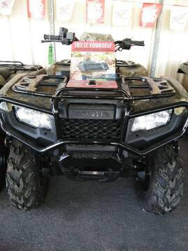 2019 Honda Trx 500FM Foreman Rubucon 4x4 for sale at Irv Thomas Honda Suzuki Polaris in Corpus Christi TX