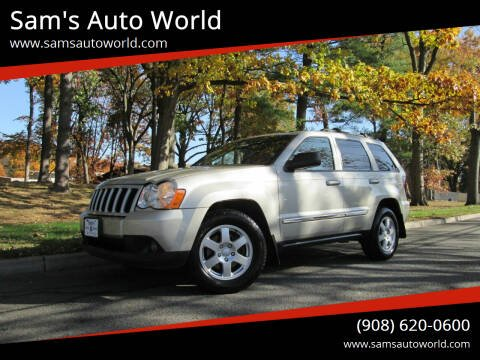 2010 Jeep Grand Cherokee for sale at Sam's Auto World in Roselle NJ