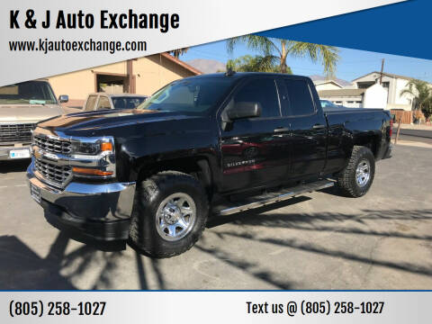 2016 Chevrolet Silverado 1500 for sale at K & J Auto Exchange in Santa Paula CA