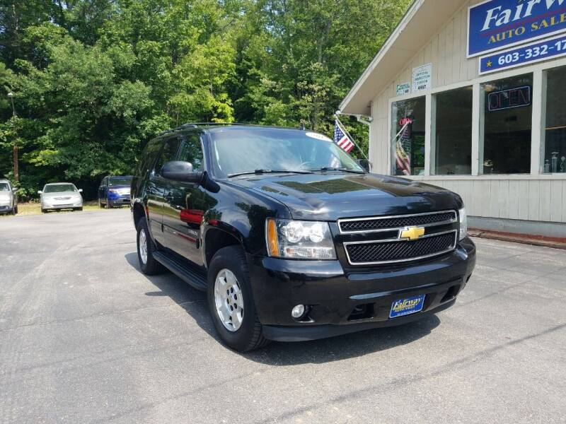 2013 Chevrolet Tahoe for sale at Fairway Auto Sales in Rochester NH