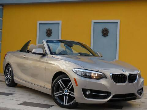 2017 BMW 2 Series for sale at Paradise Motor Sports LLC in Lexington KY