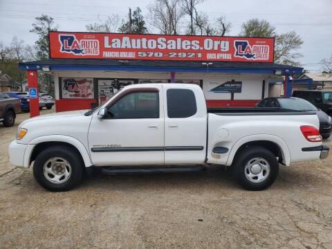 2004 Toyota Tundra for sale at LA Auto Sales in Monroe LA