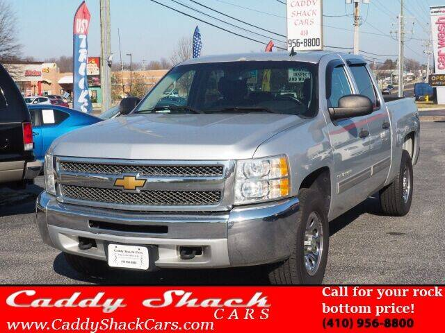 2013 Chevrolet Silverado 1500 for sale at CADDY SHACK CARS in Edgewater MD
