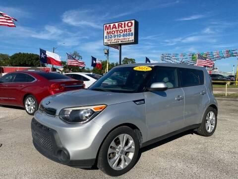 2015 Kia Soul for sale at Mario Motors in South Houston TX