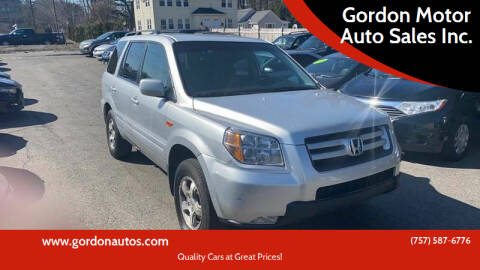 2006 Honda Pilot for sale at Gordon Motor Auto Sales Inc. in Norfolk VA