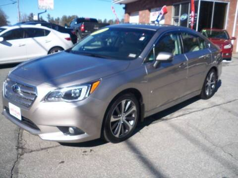 2015 Subaru Legacy for sale at Charlies Auto Village in Pelham NH