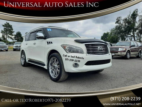 2011 Infiniti QX56 for sale at Universal Auto Sales Inc in Salem OR
