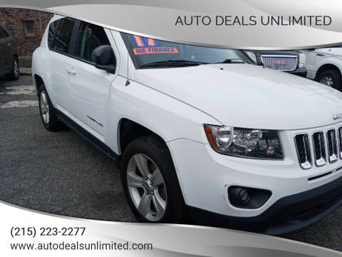 2017 Jeep Compass for sale at AUTO DEALS UNLIMITED in Philadelphia PA