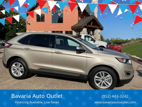 2017 Ford Edge for sale at Bavaria Auto Outlet in Victoria MN