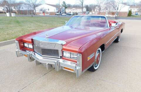 1976 Cadillac Eldorado for sale at WEST PORT AUTO CENTER INC in Fenton MO