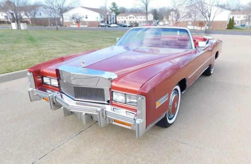 1976 Cadillac Eldorado for sale at WEST PORT AUTO CENTER INC in Fenton MO