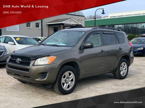 2011 Toyota RAV4 for sale at DAB Auto World & Leasing in Wake Forest NC