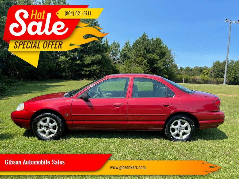 2000 Ford Contour for sale at Gibson Automobile Sales in Spartanburg SC