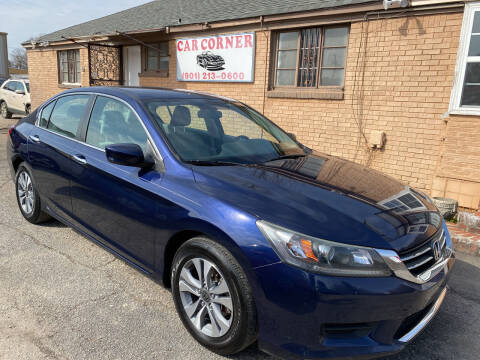 2014 Honda Accord for sale at Car Corner in Memphis TN