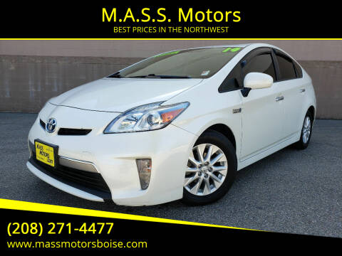 2014 Toyota Prius Plug-in Hybrid for sale at M.A.S.S. Motors - Emerald in Boise ID