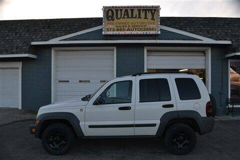 2007 Jeep Liberty for sale at Quality Pre-Owned Automotive in Cuba MO