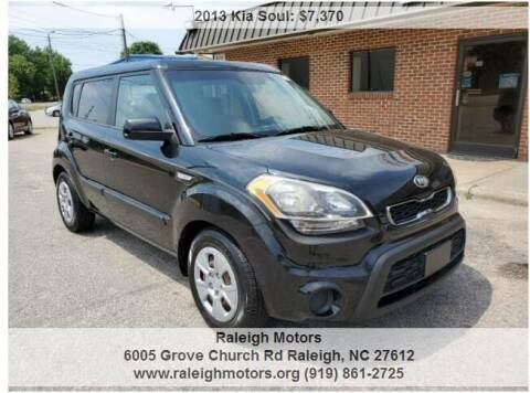 2013 Kia Soul for sale at Raleigh Motors in Raleigh NC