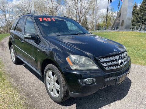 2008 Mercedes-Benz M-Class for sale at BELOW BOOK AUTO SALES in Idaho Falls ID