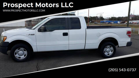 2009 Ford F-150 for sale at Prospect Motors LLC in Adamsville AL