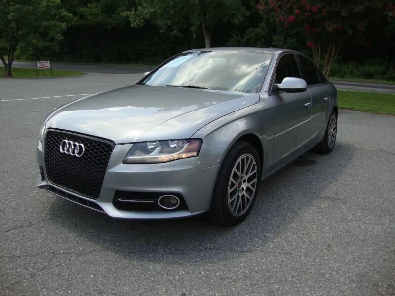 2010 Audi A4 for sale at Pristine Auto Sales in Monroe NC