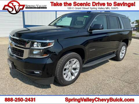 2016 Chevrolet Tahoe for sale at Spring Valley Chevrolet Buick in Spring Valley MN