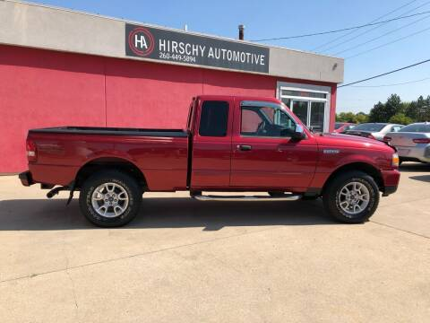 2007 Ford Ranger for sale at Hirschy Automotive in Fort Wayne IN