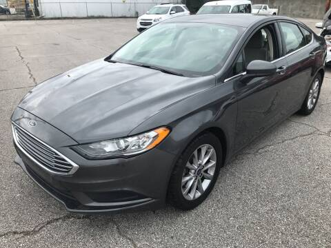 2017 Ford Fusion for sale at East Memphis Auto Center in Memphis TN