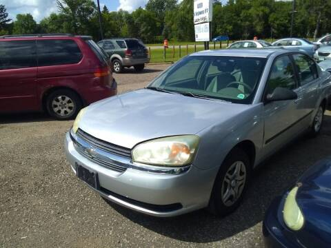 2004 Chevrolet Malibu for sale at Continental Auto Sales in White Bear Lake MN