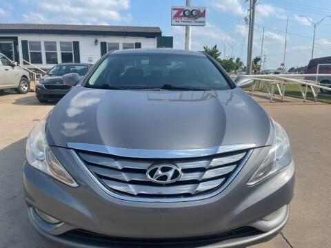 2013 Hyundai Sonata for sale at Zoom Auto Sales in Oklahoma City OK