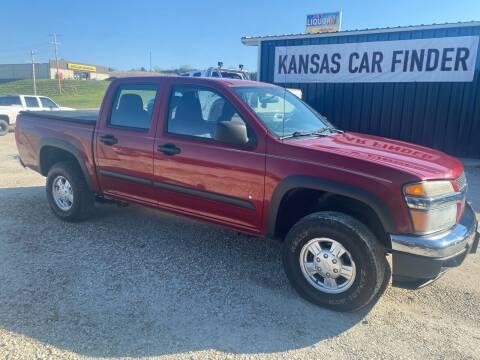 2006 Chevrolet Colorado for sale at Kansas Car Finder in Valley Falls KS