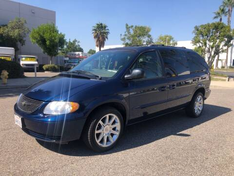 2002 Chrysler Town and Country for sale at Trade In Auto Sales in Van Nuys CA