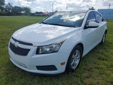 2014 Chevrolet Cruze for sale at VC Auto Sales in Miami FL