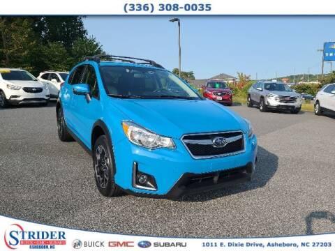 2016 Subaru Crosstrek for sale at STRIDER BUICK GMC SUBARU in Asheboro NC