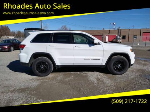 2020 Jeep Grand Cherokee for sale at Rhoades Auto Sales in Spokane Valley WA