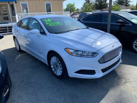 2014 Ford Fusion Hybrid for sale at Contra Costa Auto Sales in Oakley CA